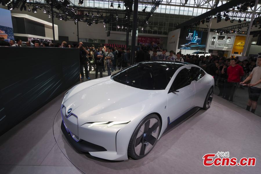 Electric cars take the spotlight at Auto China