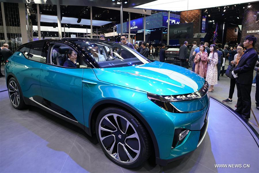 Auto China 2018 opens in Beijing