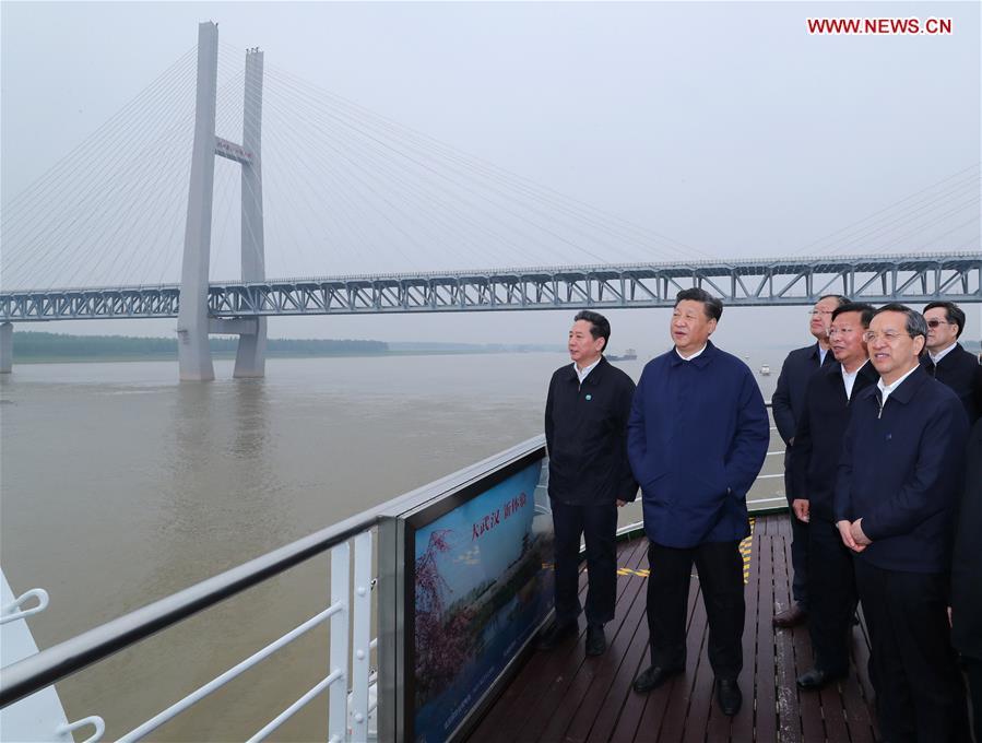 President Xi visits Yichang