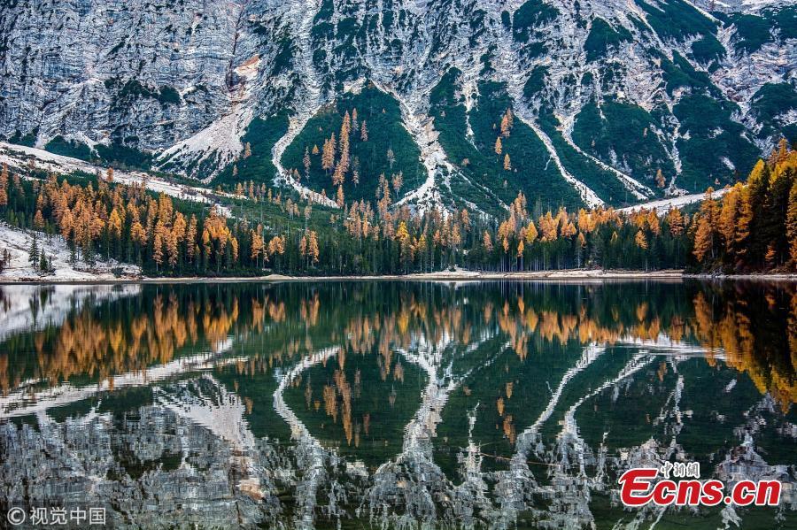 Pearl among Dolomite lakes