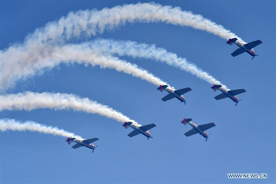 Zhengzhou Air Show 2018 kicks off