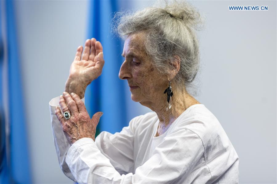 Tai Chi Chuan brings 'balanced' life to 93-year-old woman in U.S.