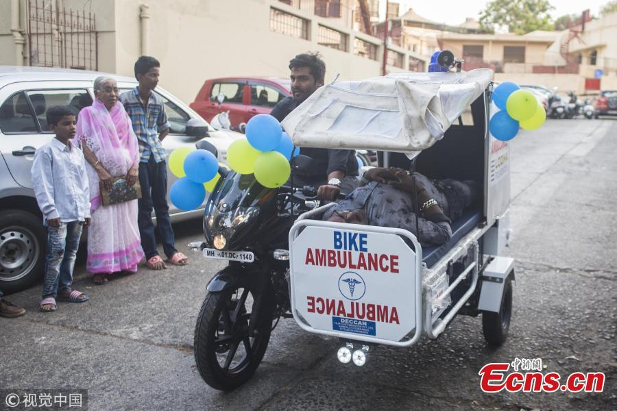 Bike ambulance launched In Mumbai