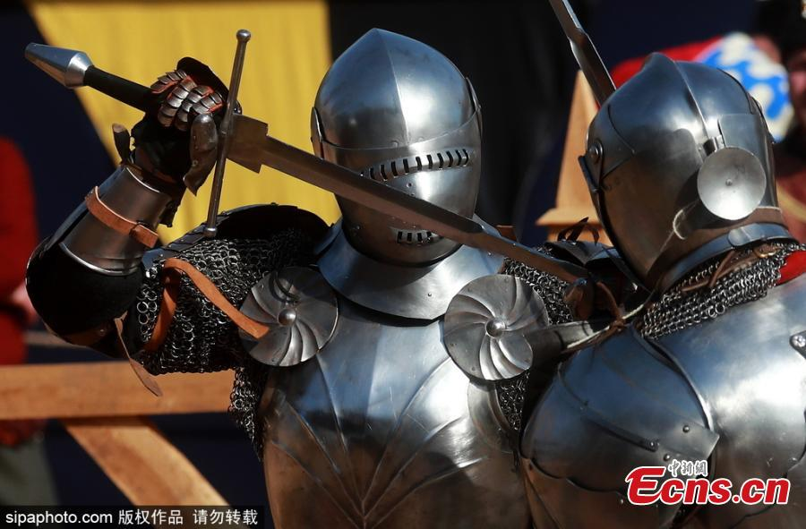 Moscow's St. George Knight Tournament for modern-day knights