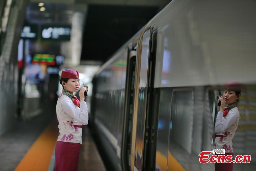 Train attendants make passengers feel at home