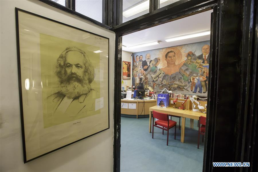 Marx Memorial Library and Workers' School in London, Britain
