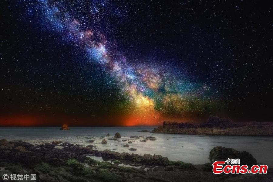 Incredible pictures of Milky Way