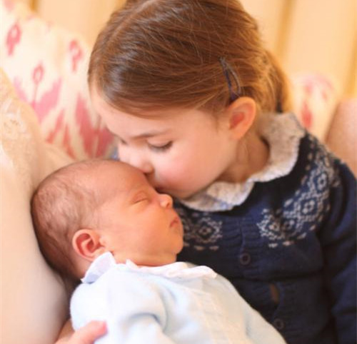 Princess Charlotte turns three