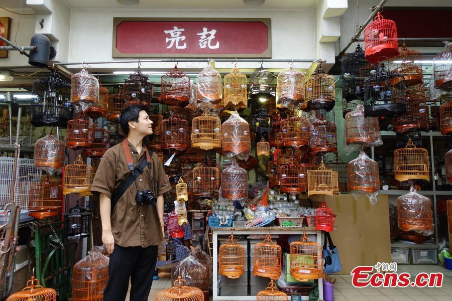 Hong Kong reopens Yuen Po Street Bird Garden