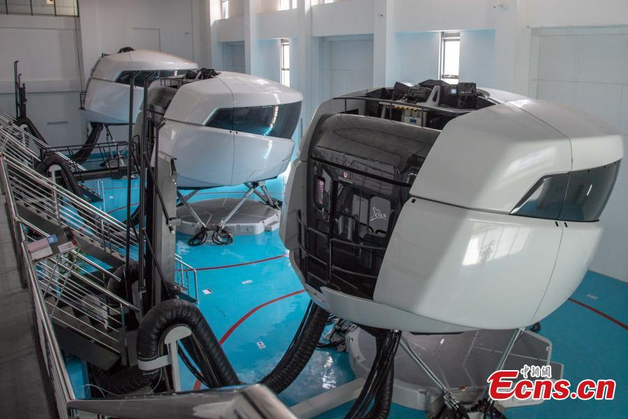 Glimpse of largest flight training center in Asia