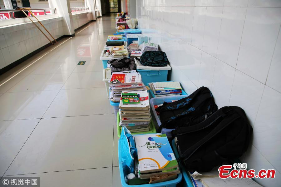 High school students in final month before Gaokao