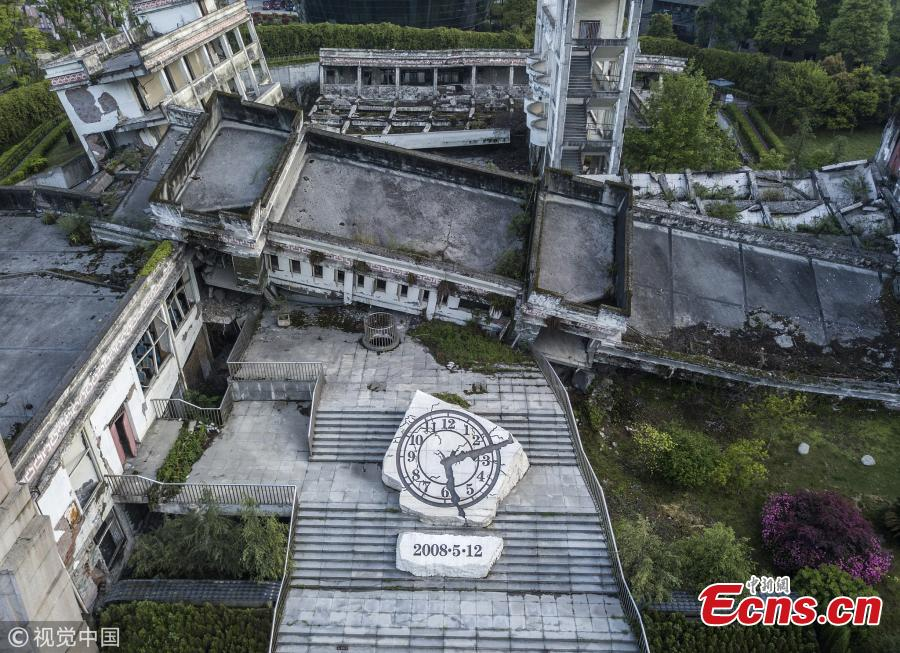 Yingxiu Town rises from earthquake ruins after ten years