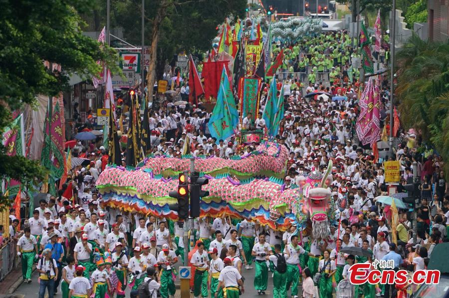 Hong Kong celebrates birthday of Goddess of the Sea