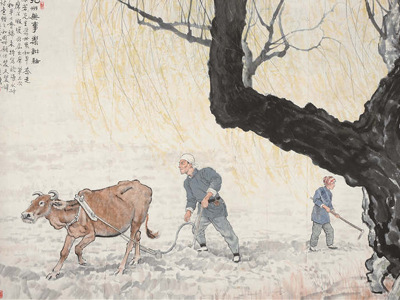 Xu Beihong's works go on display in Beijing