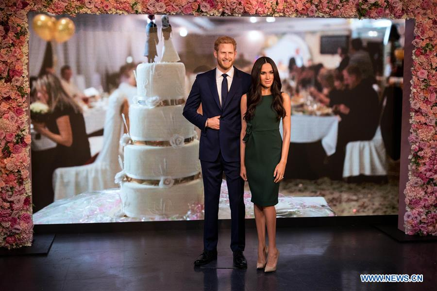 Wax figure of Meghan Markle unveiled at Madame Tussauds London