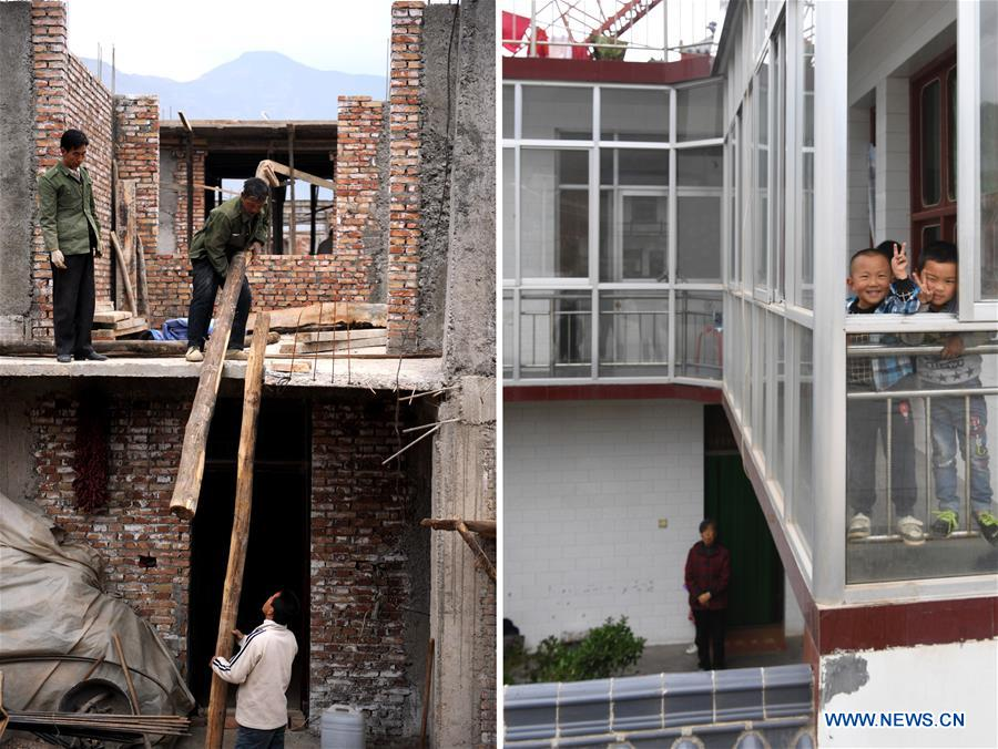 Gan'en Village regains life through reconstruction after Wenchuan earthquake