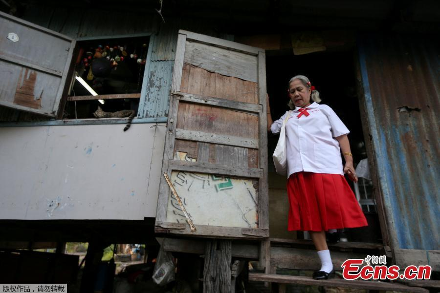 Back to school for Thailand's elderly