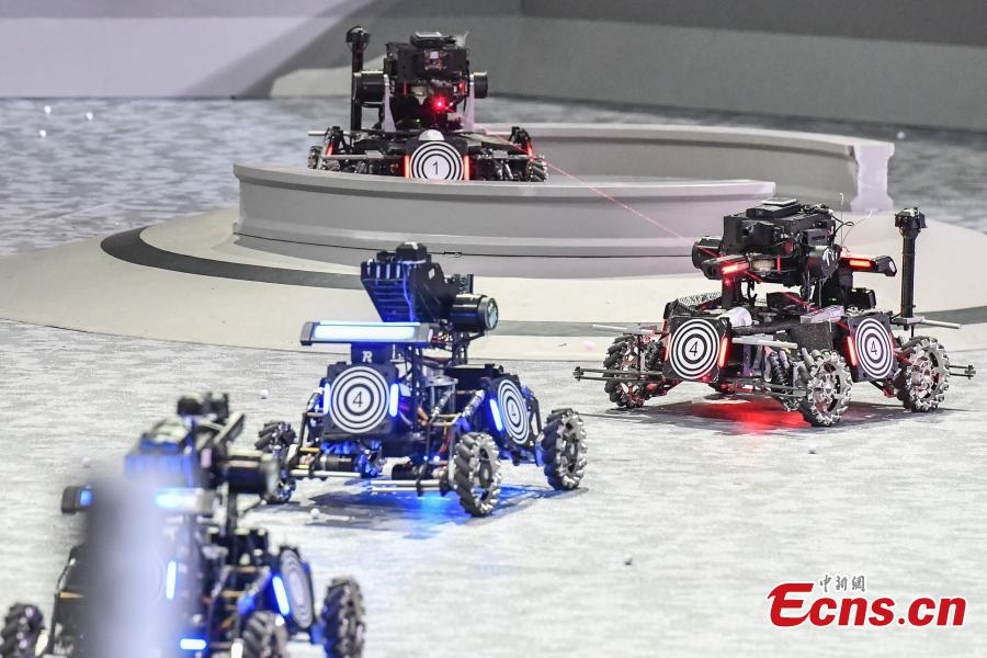 Robotics competition kicks off in southern city