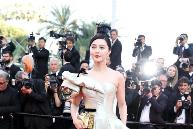 Red carpet before premiere of 'Ash Is Purest White' at Cannes Film Festival