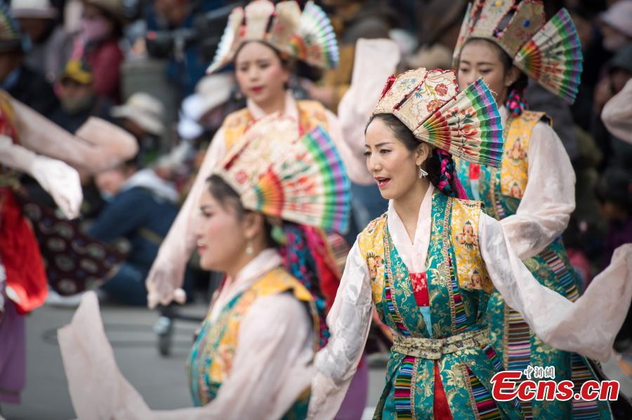 Tibetan Opera season kicks off in Lhasa