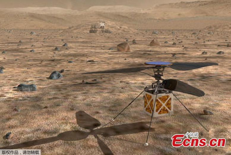 NASA to send its first autonomous helicopter to Mars in 2020