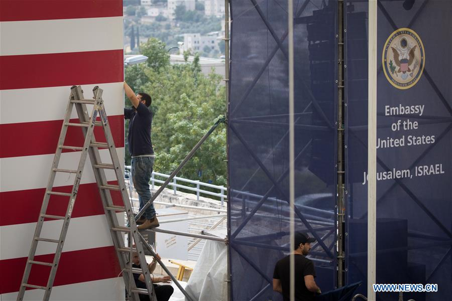 Israel prepares for inauguration of new U.S. embassy