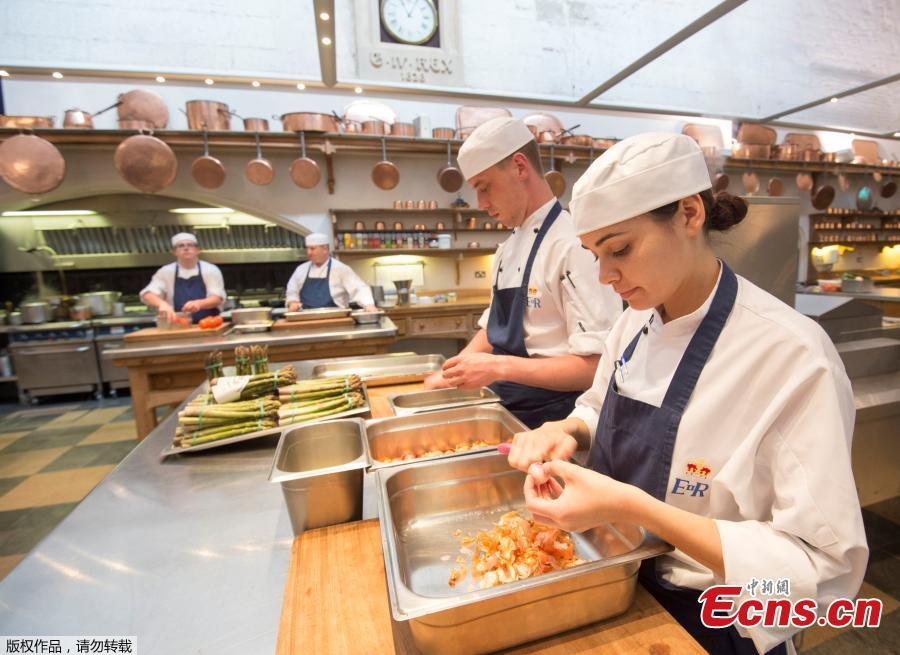 Royal Kitchen prepare for wedding banquet