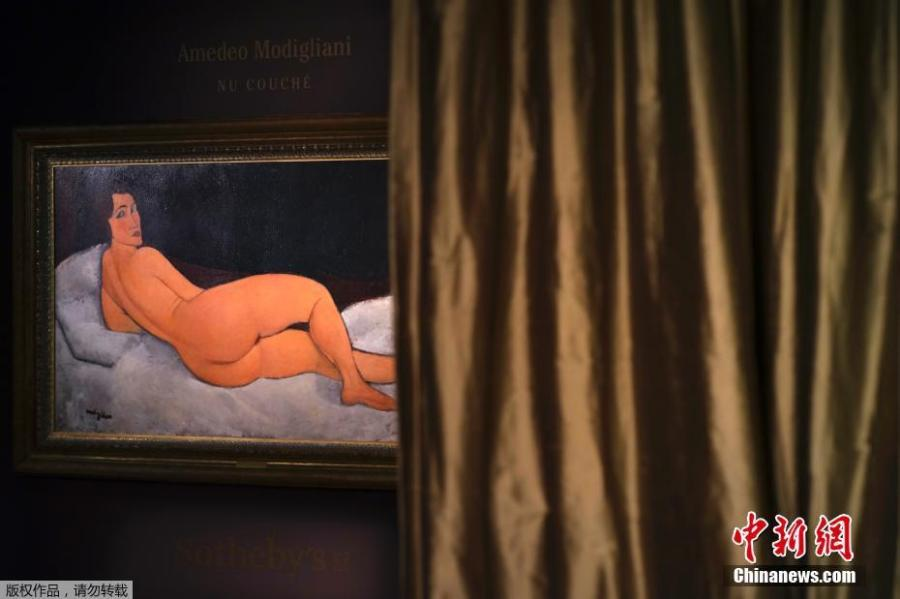 Modigliani painting fetches $157 million at auction