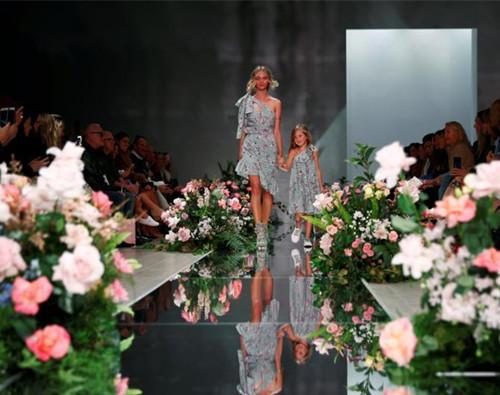 Australian Fashion Week in flowers