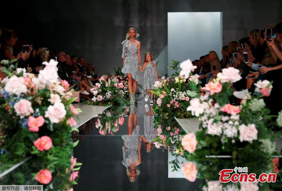 Australian Fashion Week in flowers