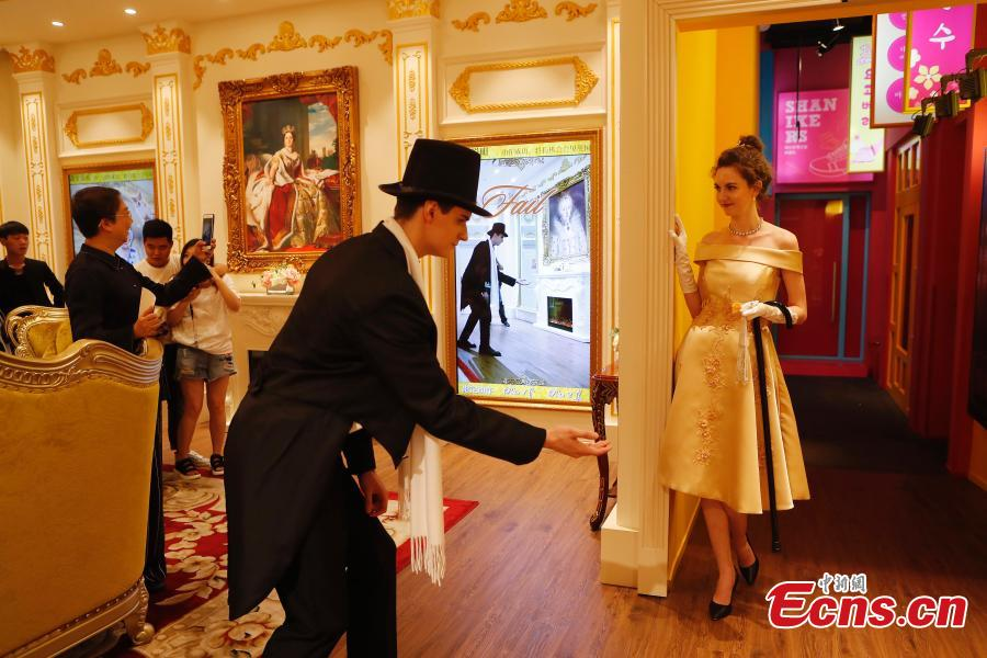 British royal garden party culture comes to Shanghai