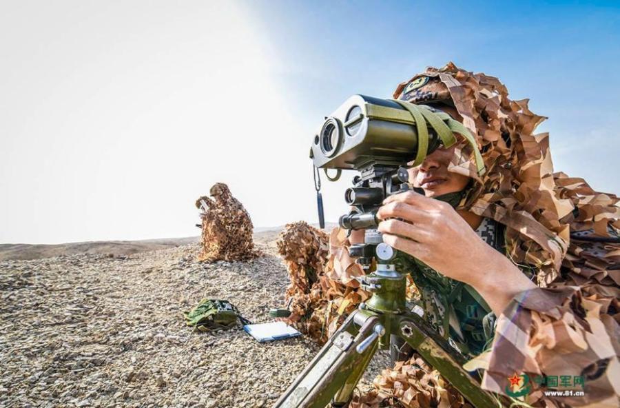Artillery brigade in live-fire drill
