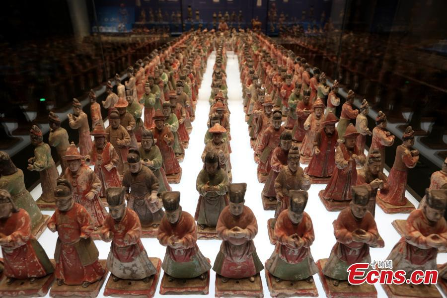 Shaanxi History Museum opens show on ancient civilization