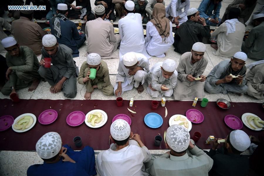 Muslims around the world celebrate Ramadan