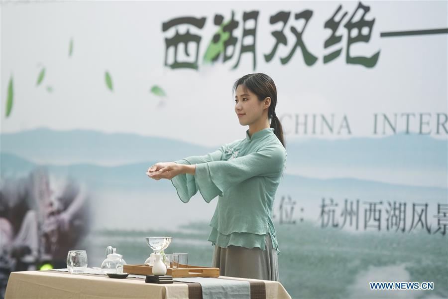 2nd China International Tea Expo kicks off in Hangzhou, E China's Zhejiang
