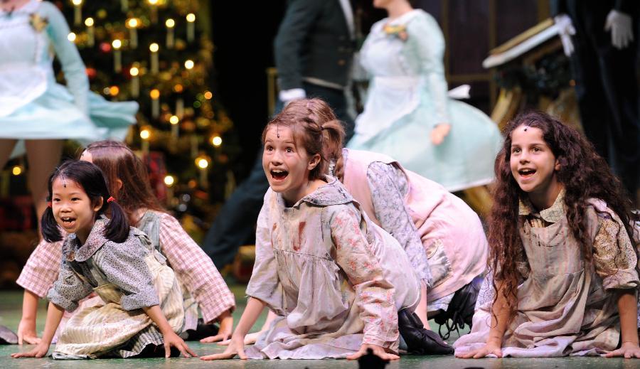 Broadway musical Annie staged in - 85.3KB
