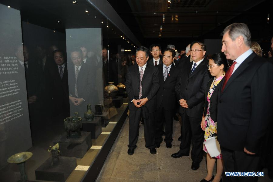 Treasures of Ancient China' exhibited in Istanbul (6/6