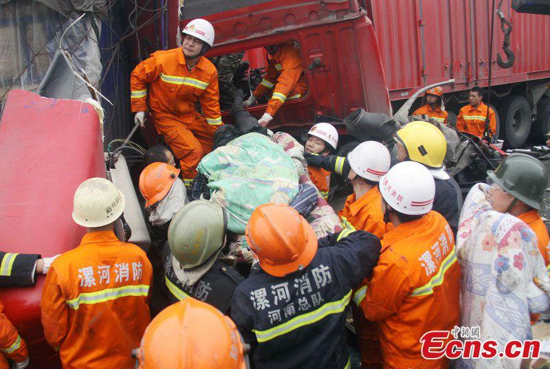 Pileup injures at least 16 on Beijing-Hong Kong-Macau