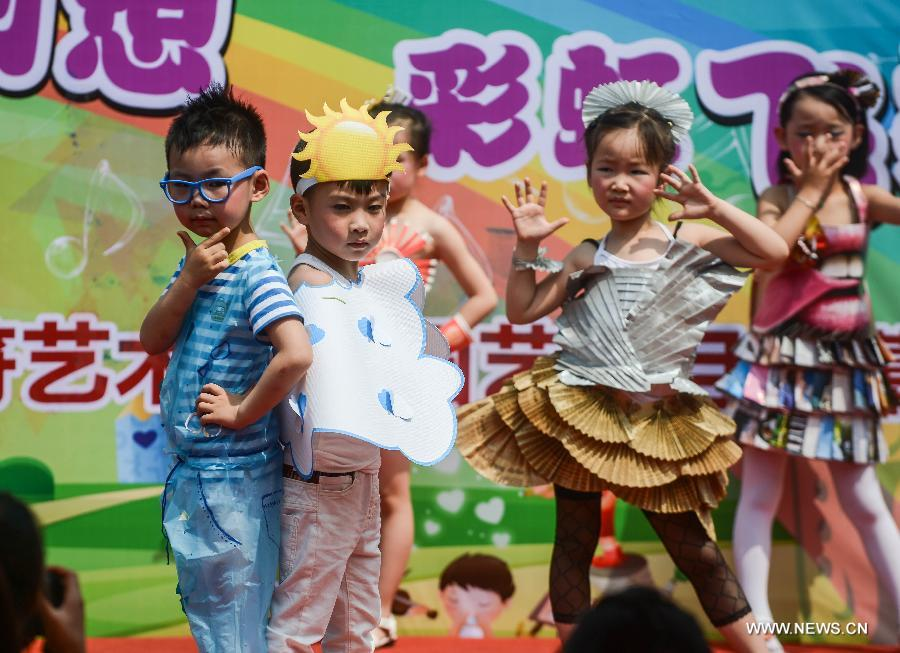 Activities Held In E China To Celebrate Upcoming Children S Day 1 4