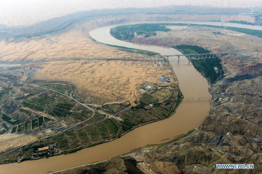 您知道中华母亲河 黄河的全貌 有多美吗? - 纽约文摘 - 纽约文摘