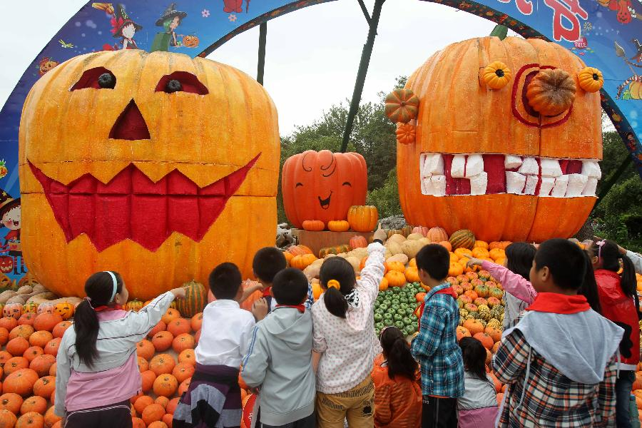 halloween pumpkin festival kicks off in chinas nantong 16