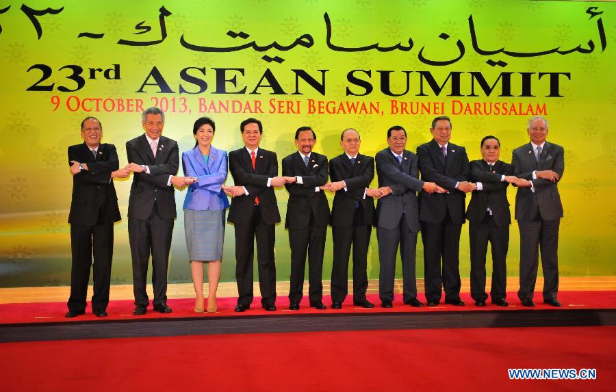23rd ASEAN summit opens in Brunei's capital (1/5
