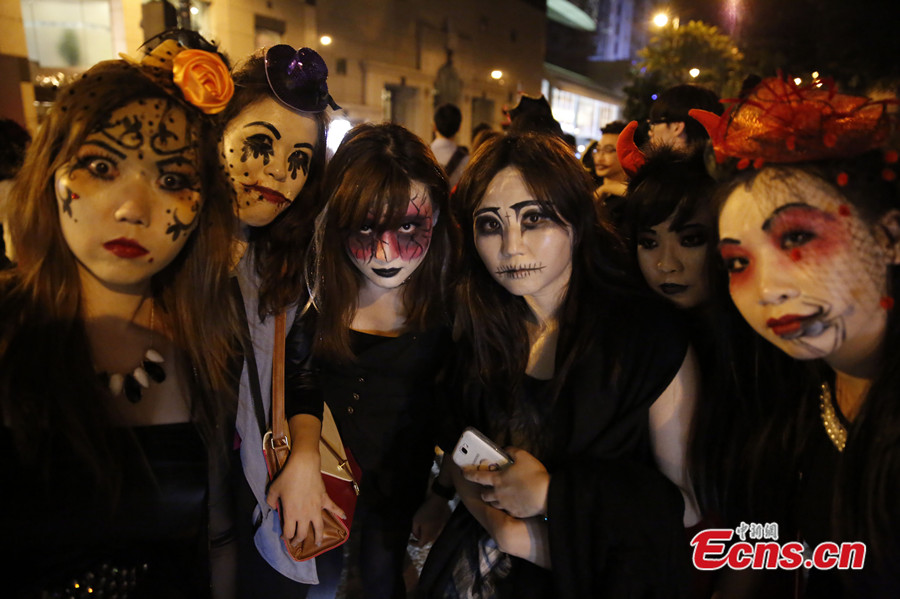 halloween celebrated around china 29