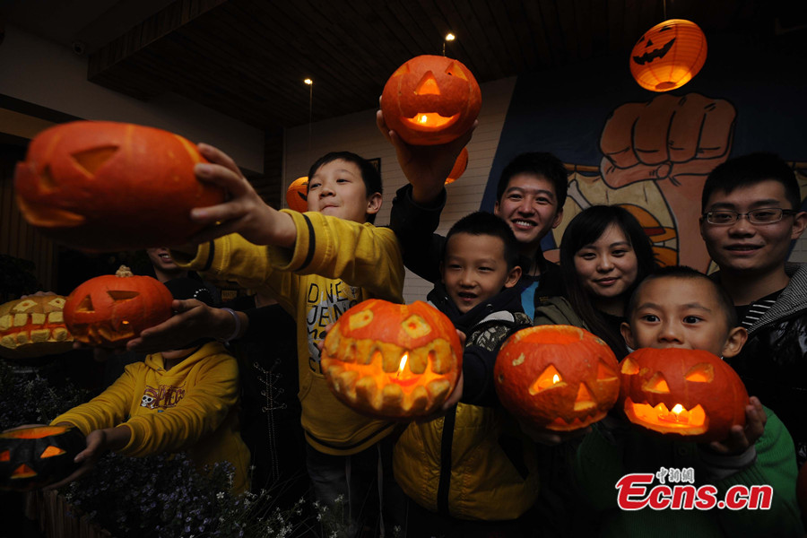 halloween celebrated around china 79