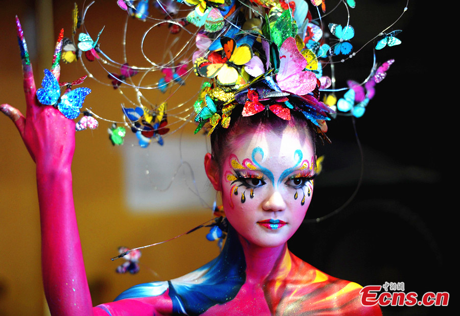 Body Painting Hd Wallpaper Free Granth