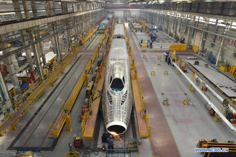 World S Fastest Train Crh380a Assembled In E China 1 10