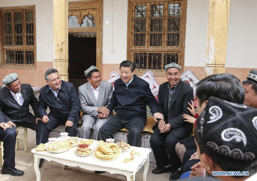 Image result for xi jinping visits mosque