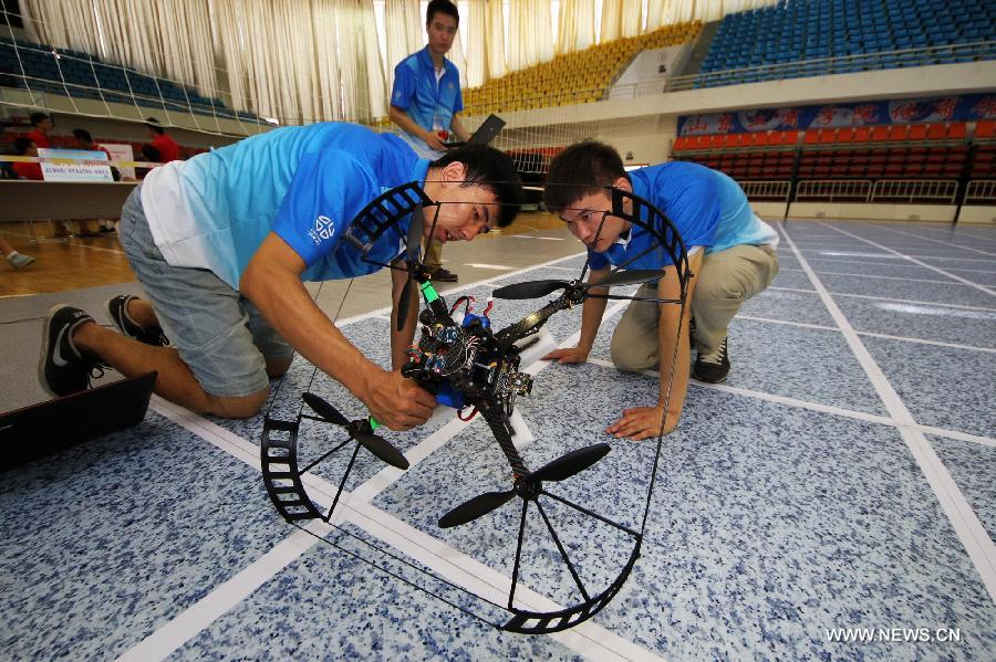 2014 Auvsi Intl Aerial Robotics Competition Opens In E China 3 8