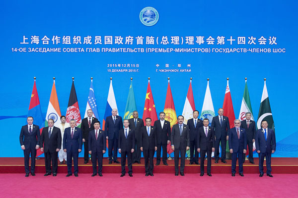 SCO stresses regional economic growth, backs Chinese proposals