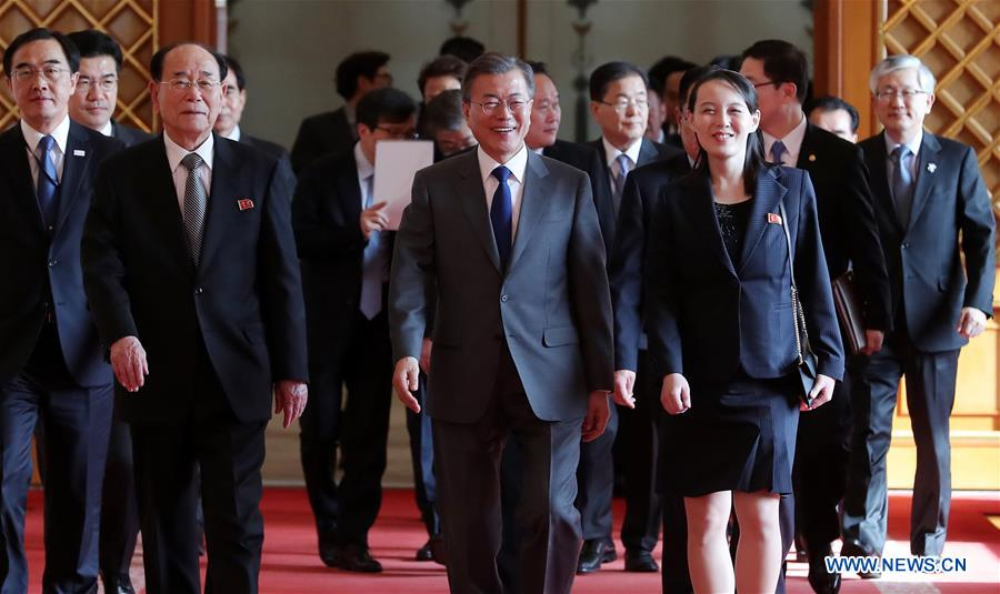 High-level inter-Korean meetings signal improvement of relations